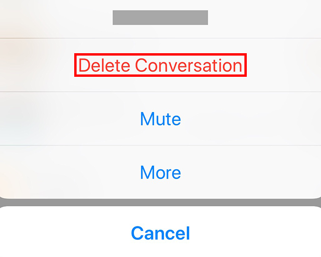 how to permanently delete facebook conversations