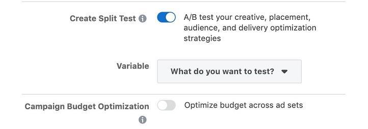Facebook ads Campaign Budget Optimization