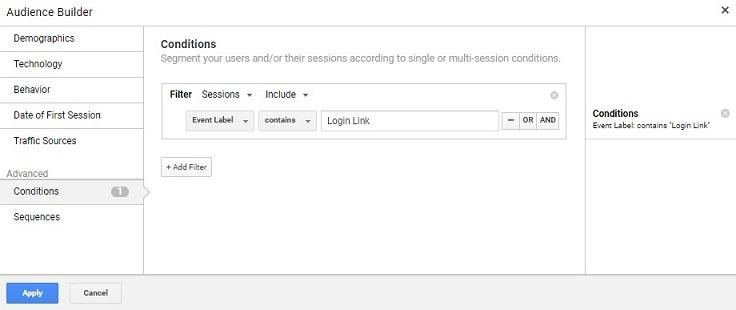 Google Ads audience exclusions screen