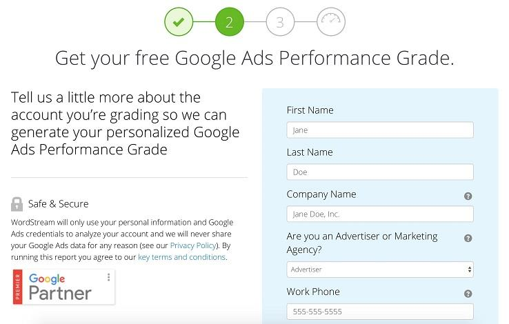 Looking for Google Shopping Help? Try WordStream's NEW Google Ads Grader