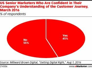 customer journey mapping pie chart