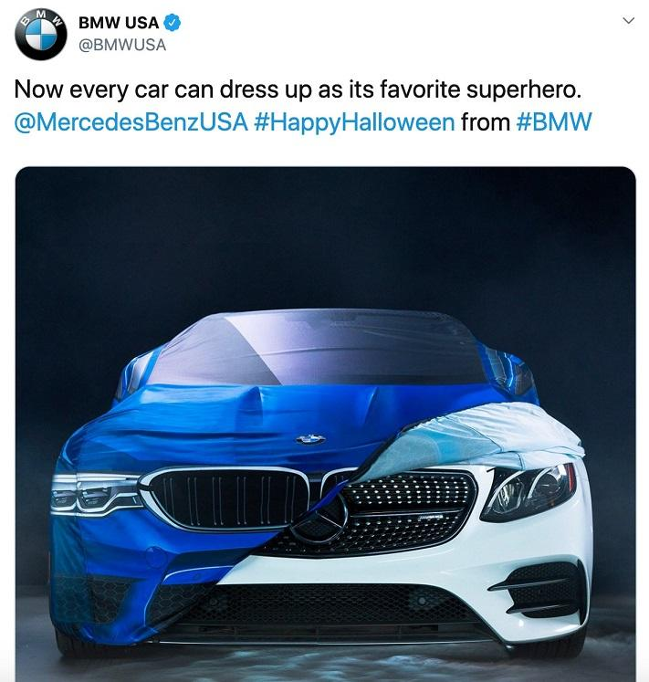 BMW tweet