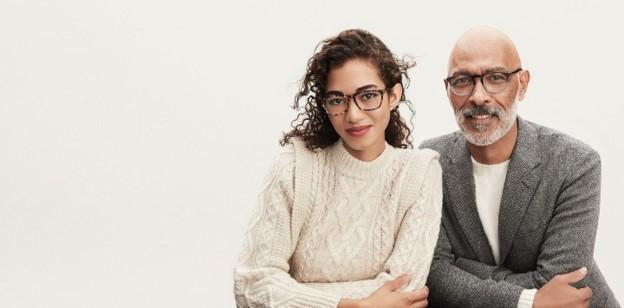 Warby Parker glasses ad
