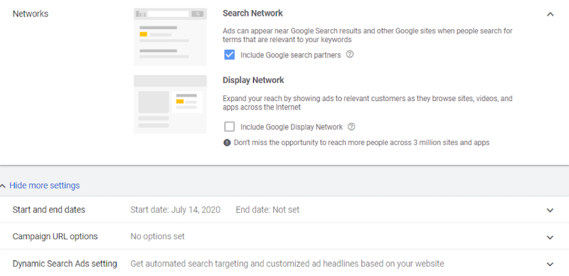 Google ads grants dynamic search ads