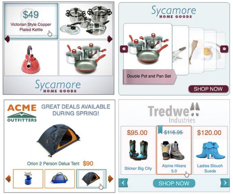 how to set up dynamic display ads examples of dynamic remarketing ads