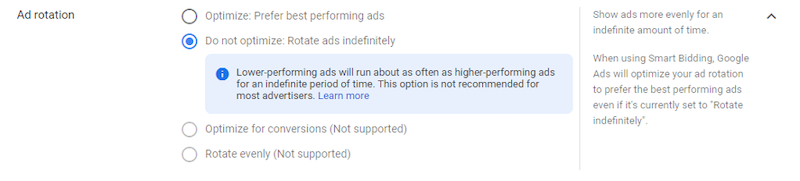Gmail ads going away ad rotation settings
