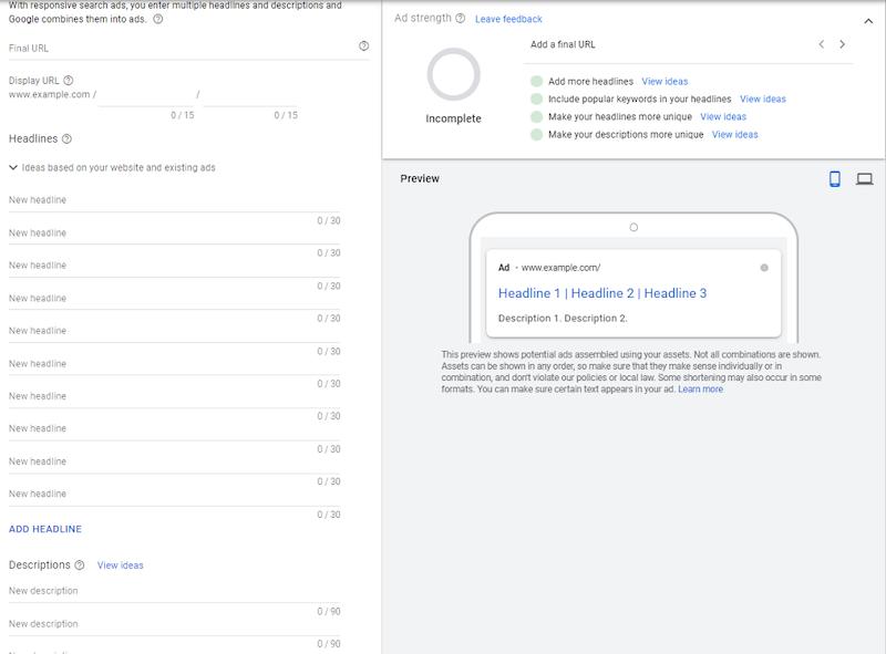 RSA-default-google-ads-setup