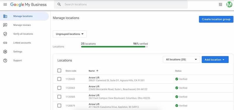 how to edit and update your google business listing multiple business locations