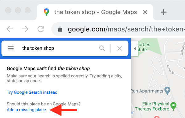how to create and verify google my business account add missing place the token shop