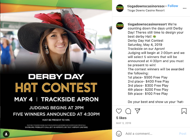 may-marketing-ideas-derby-hat-contest