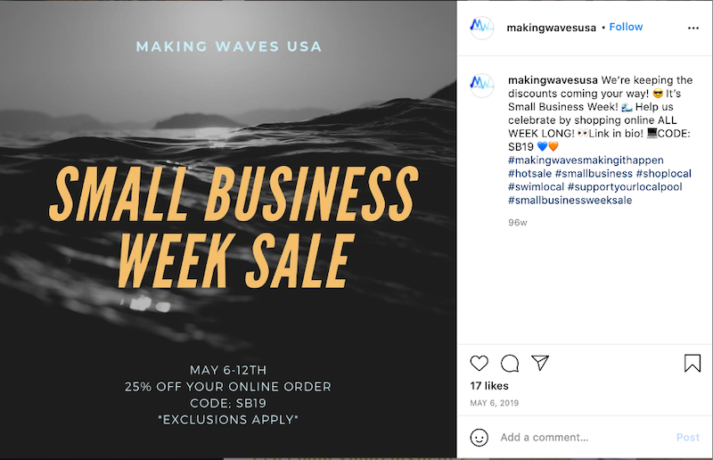may-marketing-ideas-small-business-week-sale