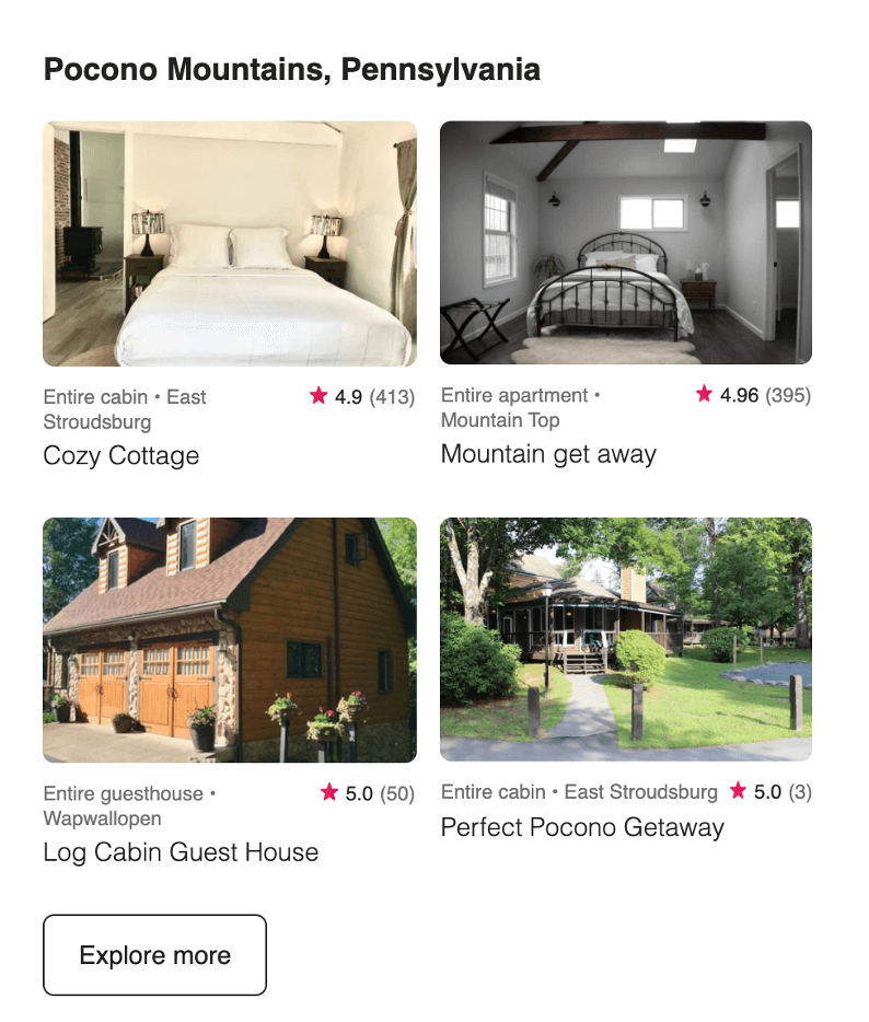 email copywriting tips air bnb email cta on-brand