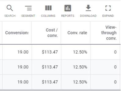metrics you can measure with google ads conversion tracking