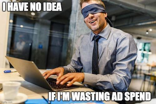 google ads conversion tracking wasted ad spend